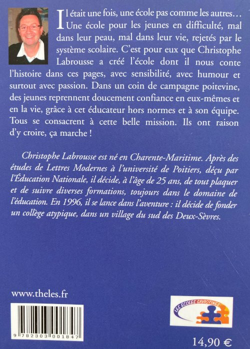 Livre de Christophe Labrousse