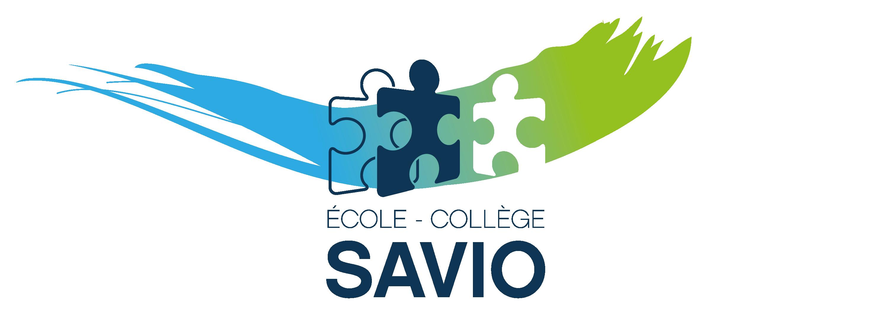 ECOLE COLLEGE SAVIO LOGO 2017