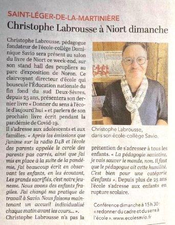 Conférence de Christophe Labrousse