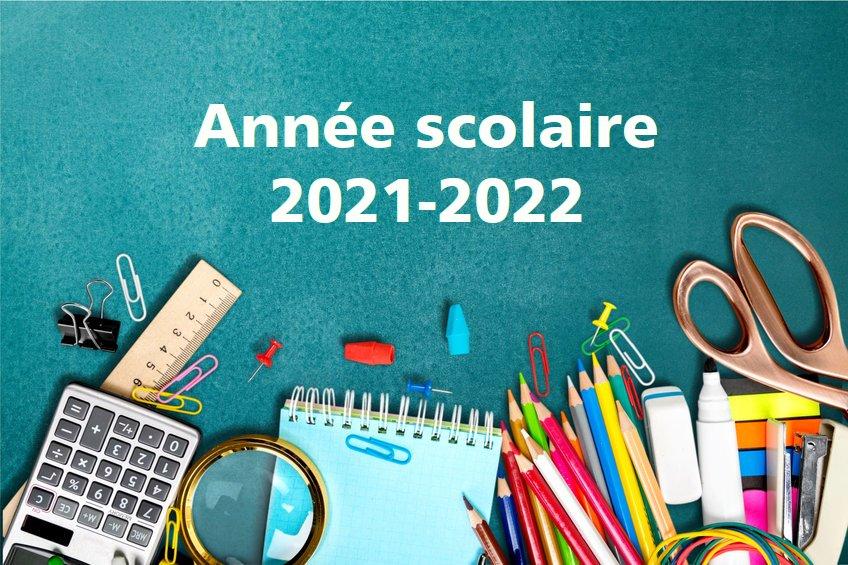 année scolaire 2021-2022