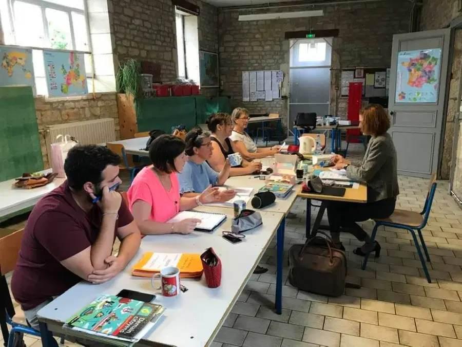 Formation équipe Collège SAVIO