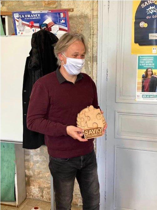 Christophe Tostain Savio d'Honneur